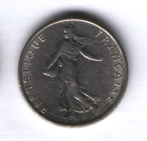 1/2 франка 1969 г. Франция XF