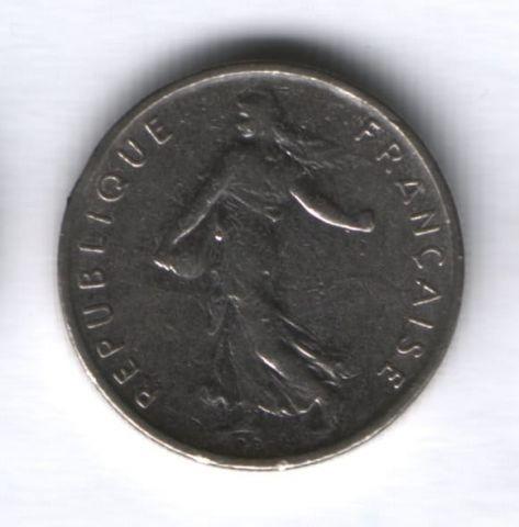 1/2 франка 1971 г. Франция
