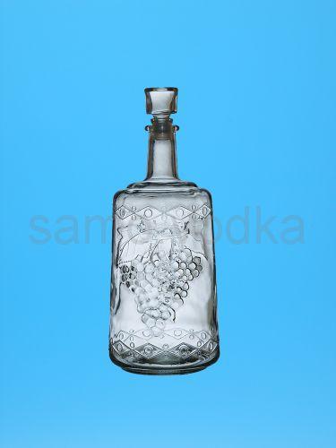 """Стеклянный графин """"Традиция"""" 1,5 литра"""