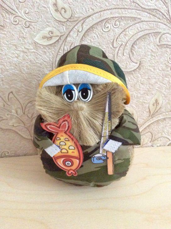 Оберег-сувенир Домовой Рыбак