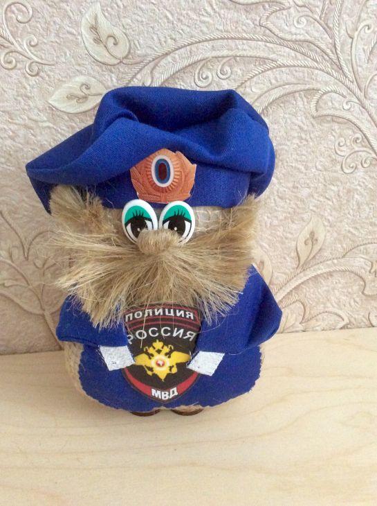 Оберег-сувенир Домовой Полиция
