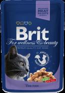 Brit Premium Cod Fish Кусочки с треской (100 г)