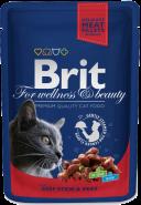 Brit Premium Beef Stew & Peas Рагу из говядины с горошком (100 г)