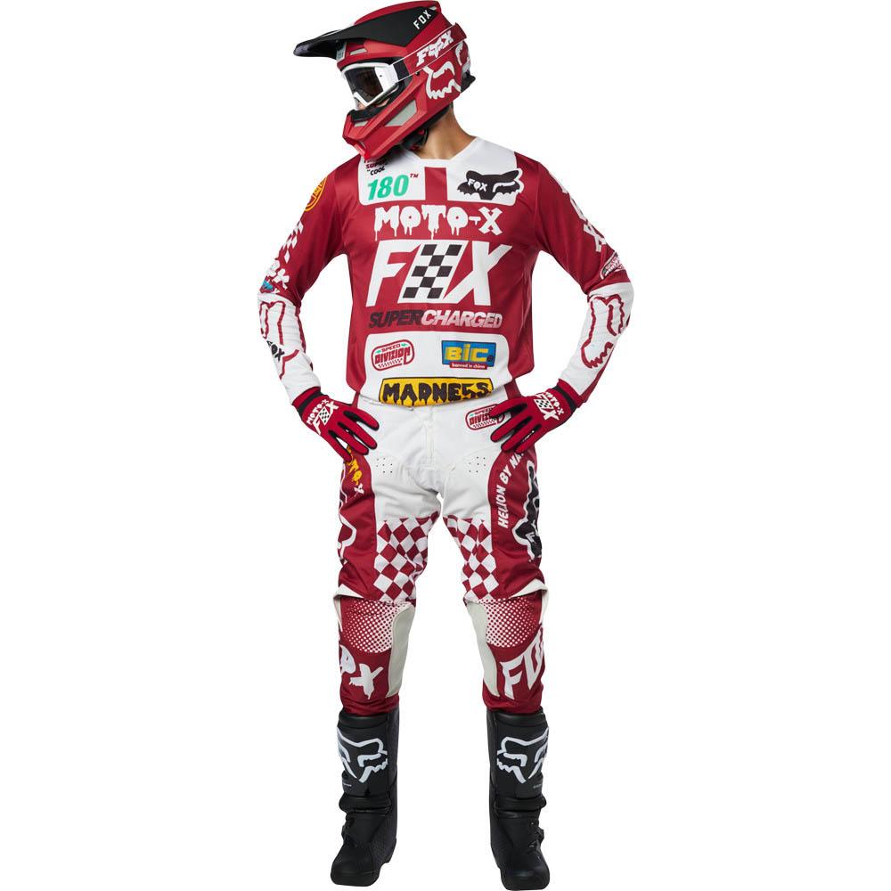 Fox - 2019 180 Czar Cardinal комплект джерси и штаны, красные