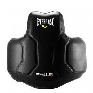 Защита корпуса Everlast Elite PU чёрная ,артикул P00000682
