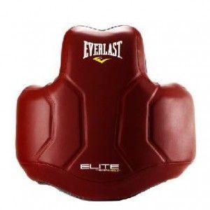 Защита корпуса Everlast Elite PU красная ,артикул P00000706