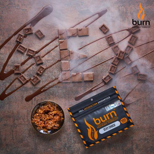 Табак Burn - Sexy Choco (Шоколад Капучино) 100 гр