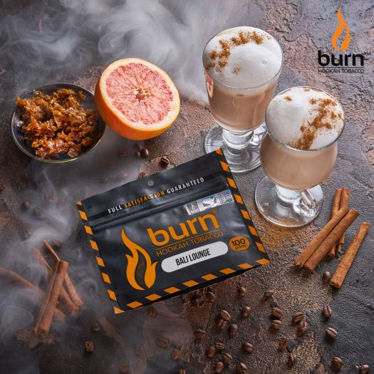 Табак Burn - Bali Lounge (Ананас с Грейпфрутом) 100 гр