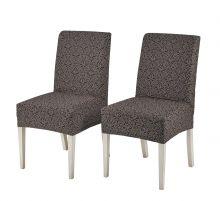 """Чехлы на стулья """"KARNA"""" VERONA (коричневый)  Арт.2958-1"""