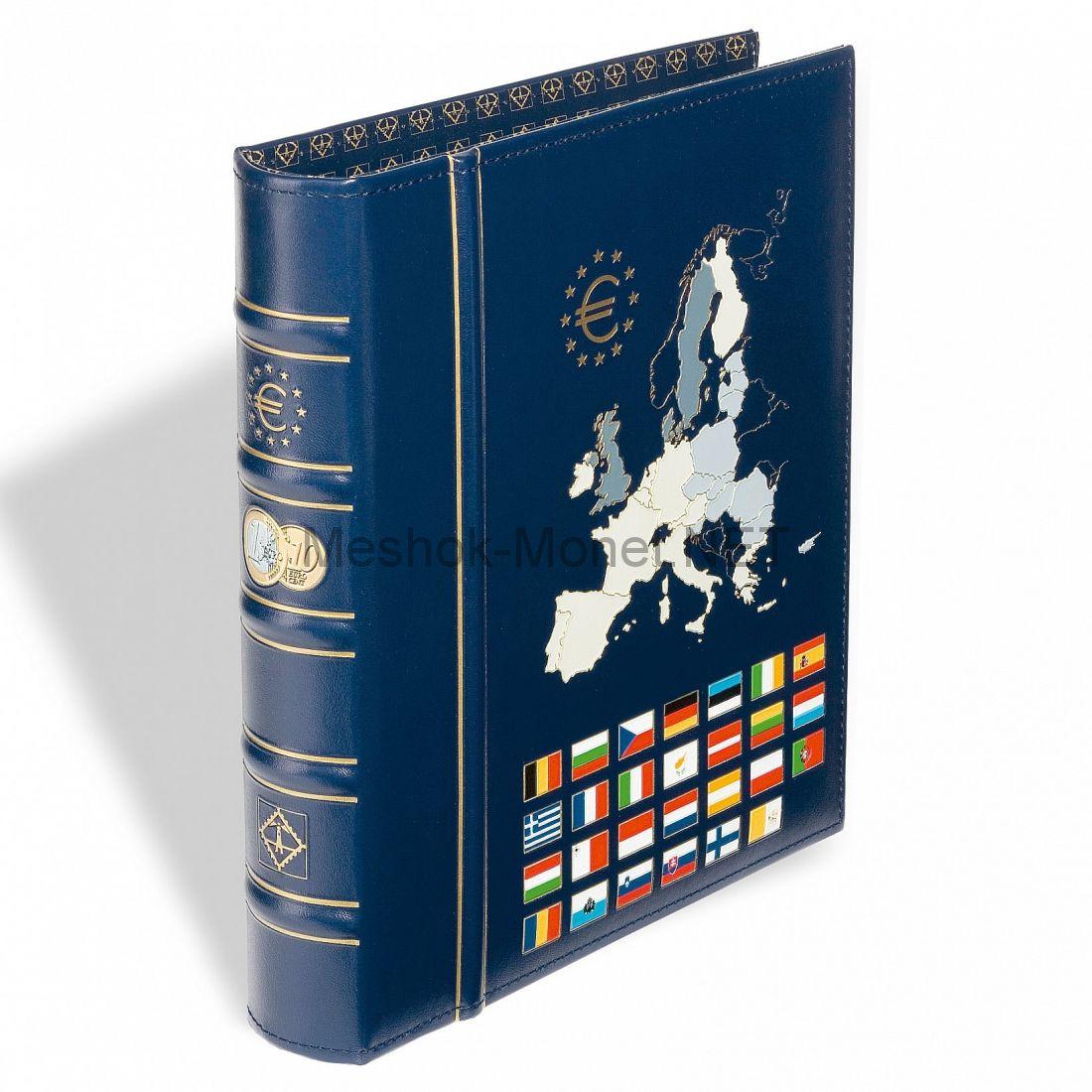 """Альбом для монет евро серии """"VISTA"""" """"Classic"""" без листов"""