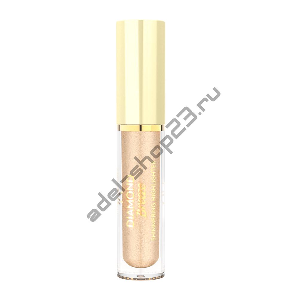 Golden Rose - Жидкий хайлайтер Diamond Breeze Shimmering 02 Champagne