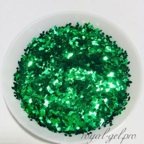 Конфетти ромб 1mm Diamond B0603(Grass Green)