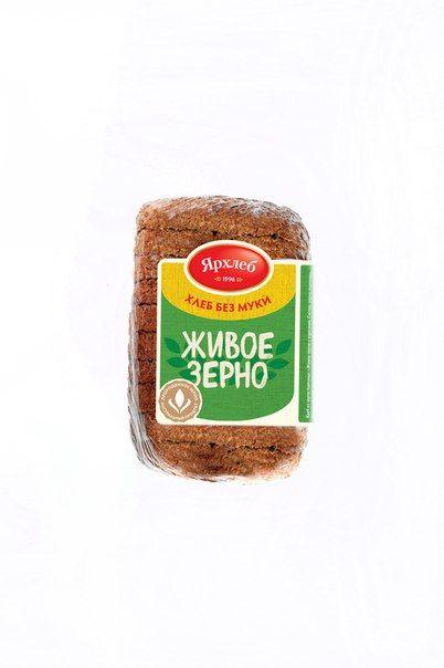 Хлеб Живое зерно ржаной (нарезка) 280г Лагуна-М