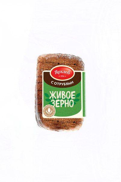 Хлеб Живое зерно с отрубями (нарезка) 270г Лагуна-М