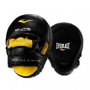 Лапа боксерская Everlast Pro Elite Leather Mantis чёр.,  артикул P00000700 BK