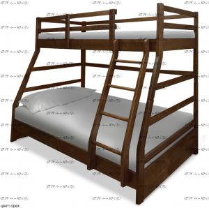 Кровать двухъярусная Хостел
