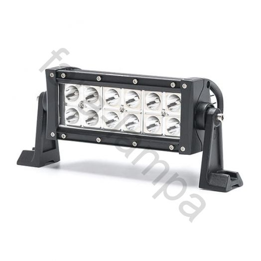 Двухрядная светодиодная LED балка ближний свет - 36W Gree