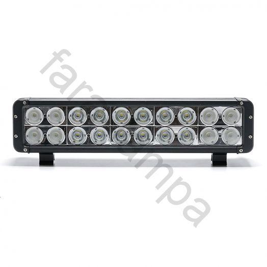 Двухрядная светодиодная балка 200 ватт Комбинированный свет (длинна 440 мм)