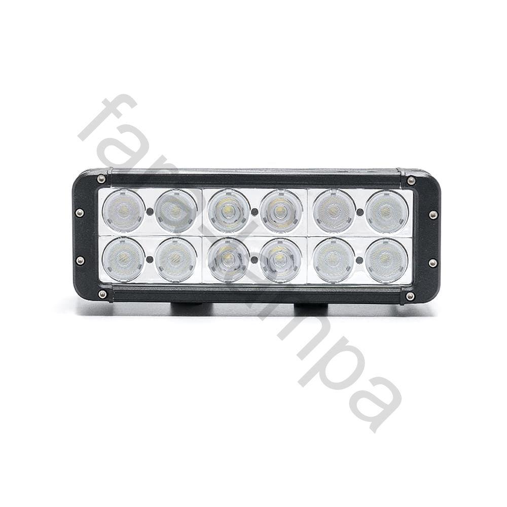 Двухрядная светодиодная балка 120 ватт Комбинированный свет (длина 280 мм)