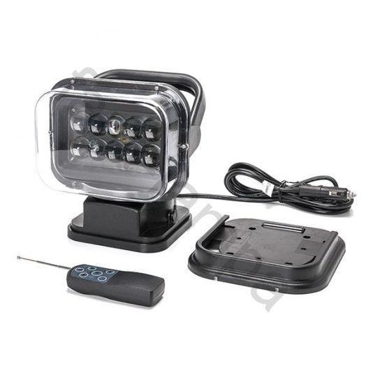 Светодиодный фароискатель 50W 12 вольт