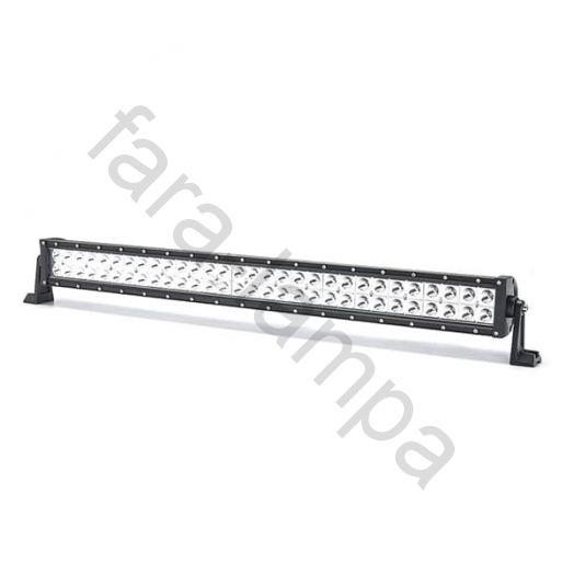 Двухрядная светодиодная LED балка Комбинированный свет - 180W Cree