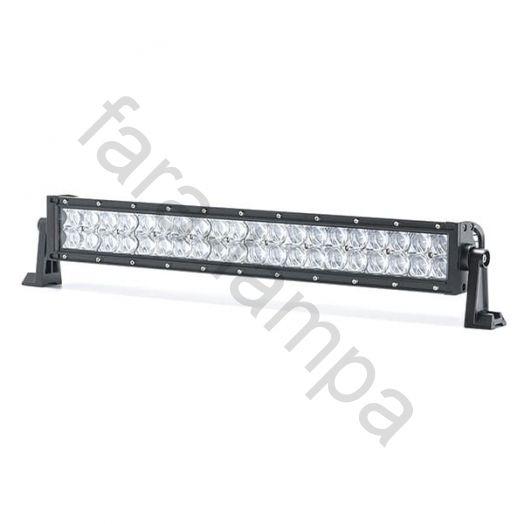 Светодиодная LED балка 5D линзы дальний свет 120 ватт