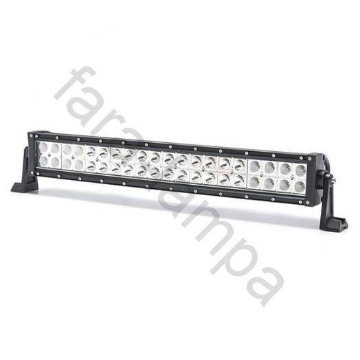 Двухрядная светодиодная LED балка Комбинированный свет - 120W Cree