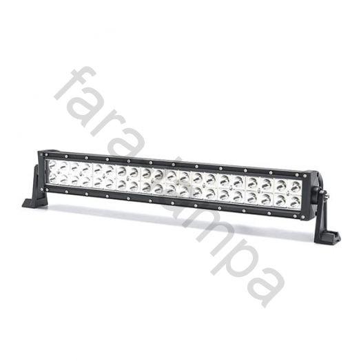 Двухрядная светодиодная LED балка дальний свет - 120W Cree
