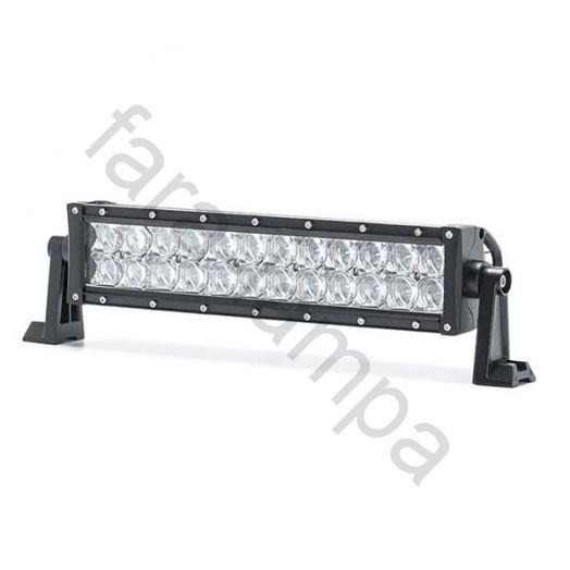 Светодиодная LED балка 5D линзы дальний свет 72 ватт