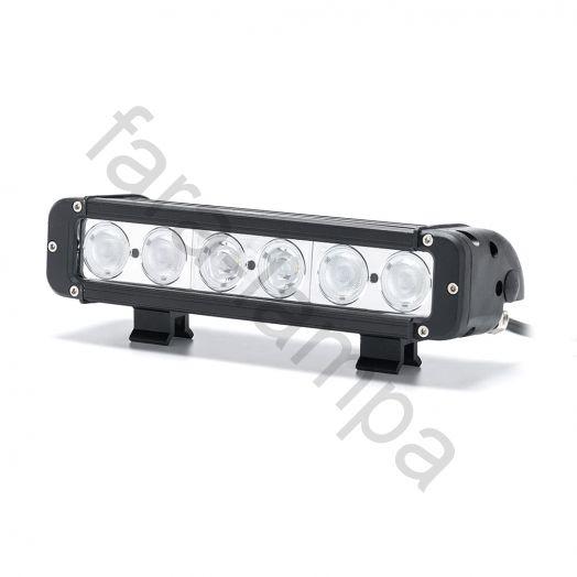 Светодиодная балка однорядная 60 Ватт Комбинированный свет (длина 280 мм)