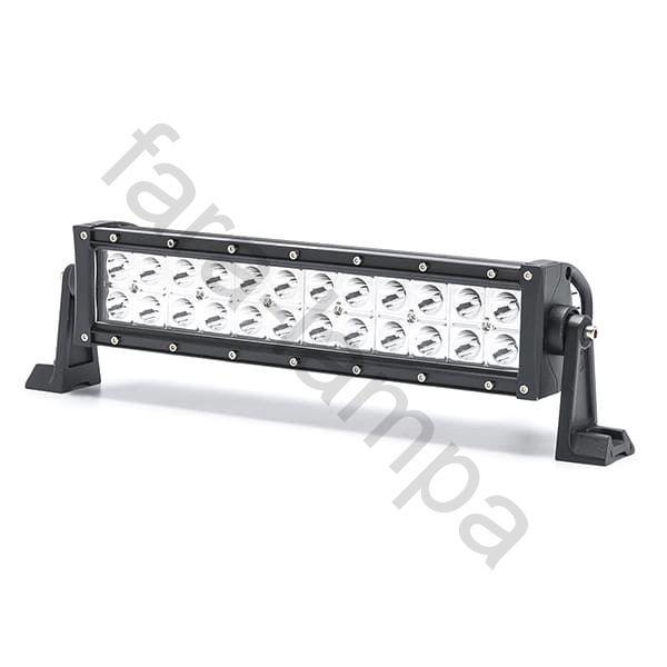 Двухрядная светодиодная LED балка дальний свет - 72W Gree