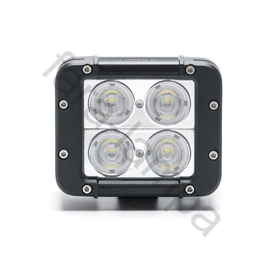 Двухрядная светодиодная балка-фара 40 ватт Дальний свет (длина 120 мм)