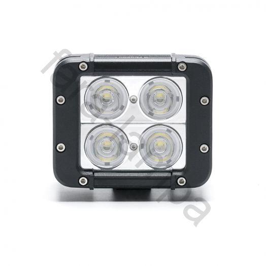 Двухрядная светодиодная фара 40 ватт Дальний свет (длина 120 мм)