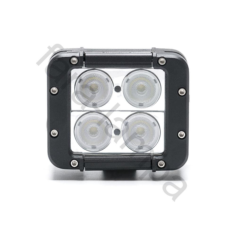 Двухрядная светодиодная фара 40 ватт Ближний свет (длина 120 мм)