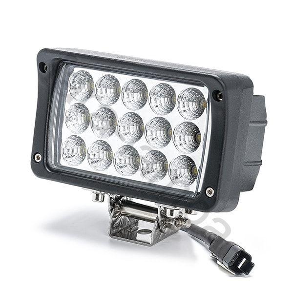 Светодиодная фара дальнего света 45 Ватт. LED Epistar