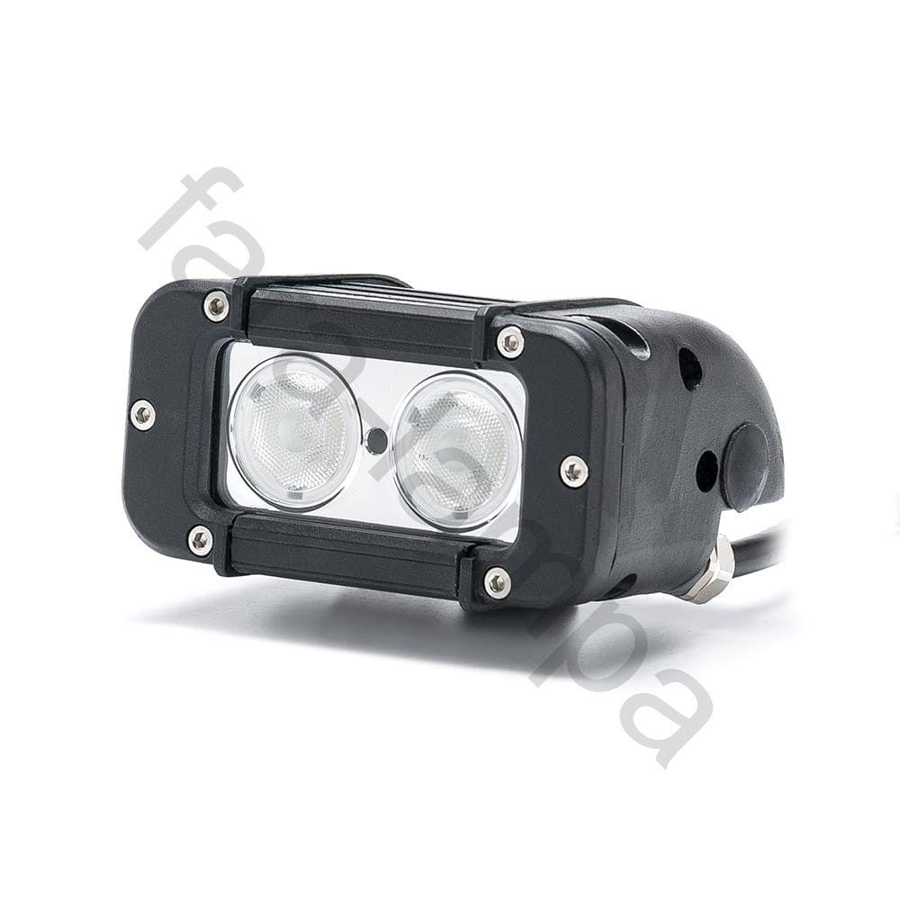 Однорядная светодиодная led фара 20 Ватт Ближний свет (длина 115 мм)