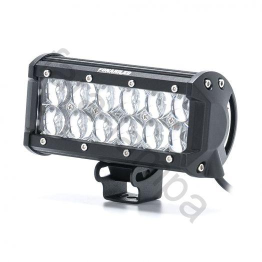 Светодиодная фара линзованная дальний свет 36 ватт | 5D линзы