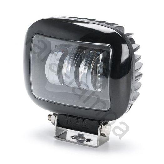 Светодиодная фара ближнего рабочего света 30 ватт. Линзы 7D