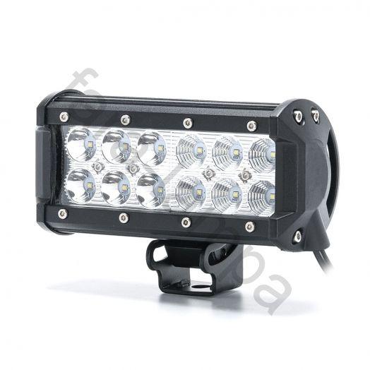 Светодиодная led фара 36 ватт Комбинированный свет