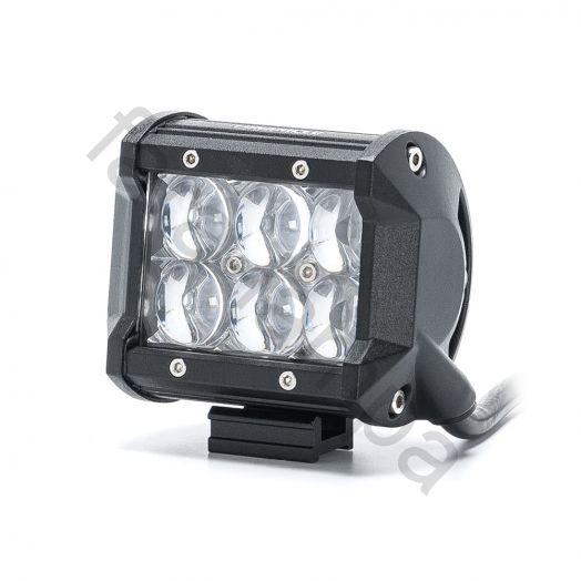 Светодиодная фара 5D Дальний свет 18 ватт