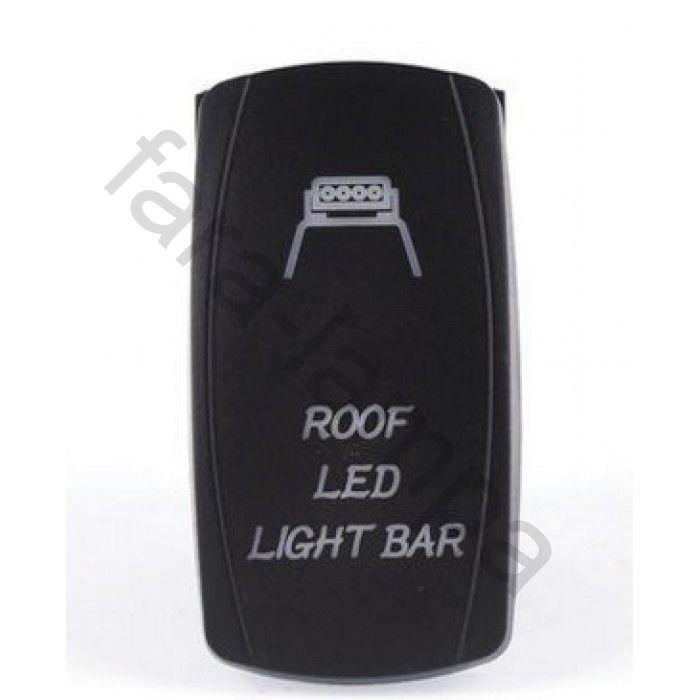 Кнопка переключения-включения фар или диодной балки на крышу (Roof Led Light Bar)