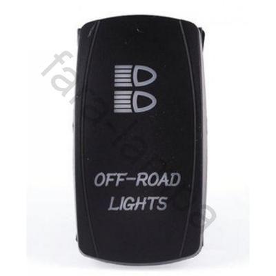 Кнопка переключения-включения фар дальнего света (off-road lights)