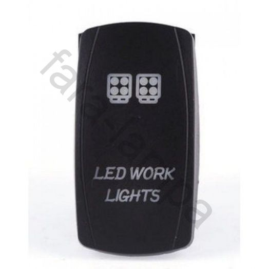 Кнопка переключения-включения фар рабочего света (Led work lights)