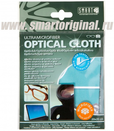 "Smart Microfiber Салфетка для оптики 20 х 20 см ""Смарт"""