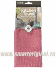 Smart Microfiber Полотенце кухонное Блеск 40 х 60 см тёмно-розовое