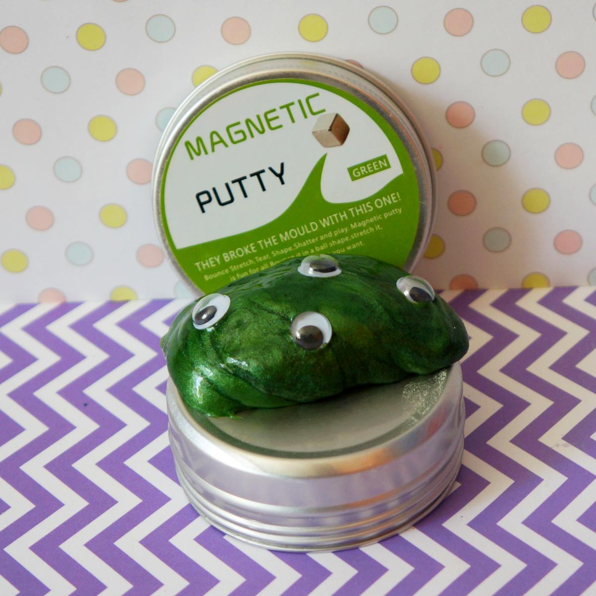 Купить Магнитный лизун Magnetic Putty недорого с доставкой
