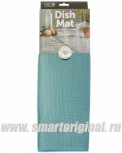 Smart Microfiber Коврик для посуды 41 х 46 см бирюза