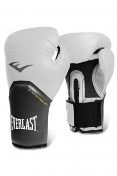 Перчатки тренировочные Everlast Elite Pro Style белые