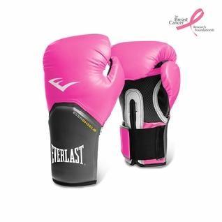 Перчатки тренировочные Everlast Elite Pro Style розовые