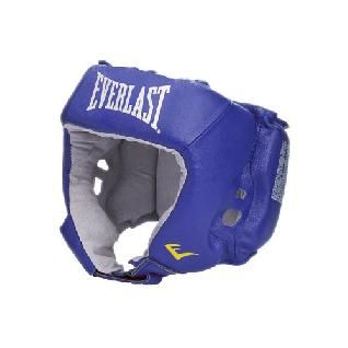Шлем боксерский Everlast Amateur Competition PU синий